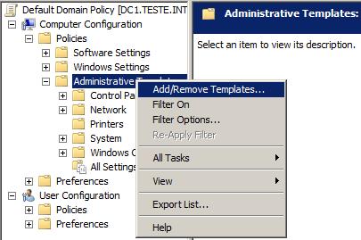 Configurar GPO de proxy para Firefox e Chrome (1/4)